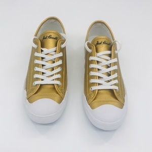 CONVERSE Jack Purcell | Gold Metallic Sneakers